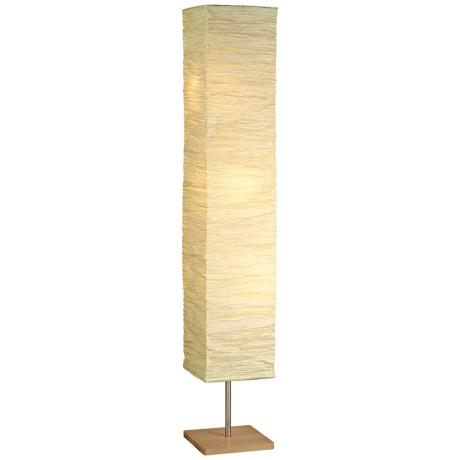 Floor Lamp Paper Shade: Lamp Shades Design Rice Paper Rectangular Rectangle,Lighting