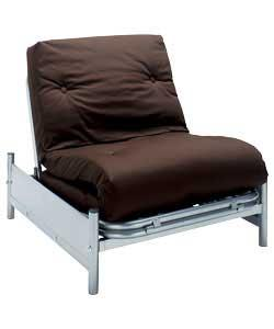 1345750472 Up Single Metal Futon Frame Jpg Vancouver Wenge Robe R Rws
